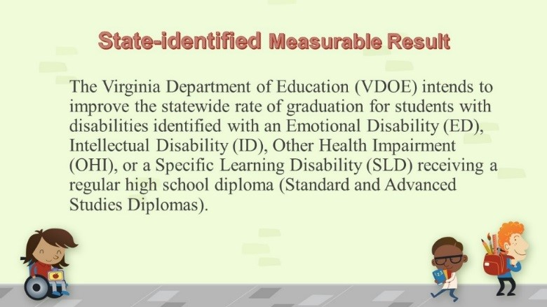 State Identified Measurable Result
