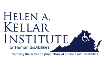 Helen A. Kellar Institute for Human disAbilities Logo